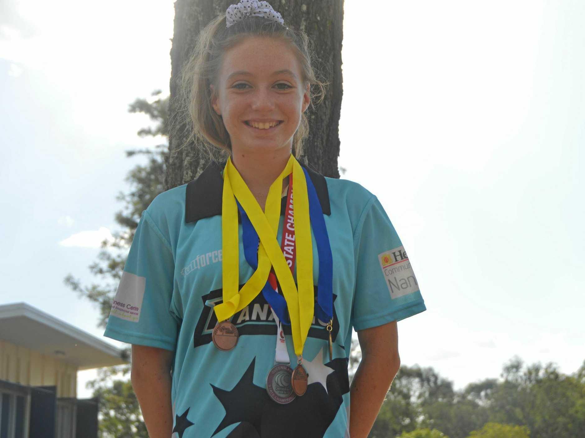 BIG GOALS: Summer Millard has big goals in race walking.