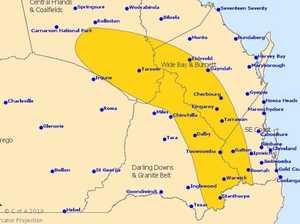 STORM WARNING: Hail predicted across the Burnett