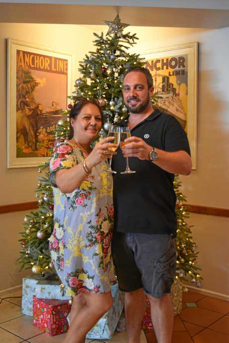 CHEERS: Co-Owners Leah McMillan and Josh Knutson have worked hard to make sure their beloved Anchor Bar opened in time for Christmas last year, after a fire temporarily put them out of action.