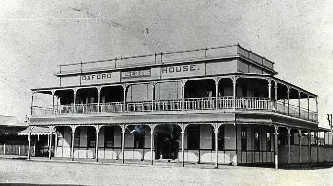 MEMORY LANE: Oxford House on the corner of Woongarra and Barolin Sts, circa 1914.