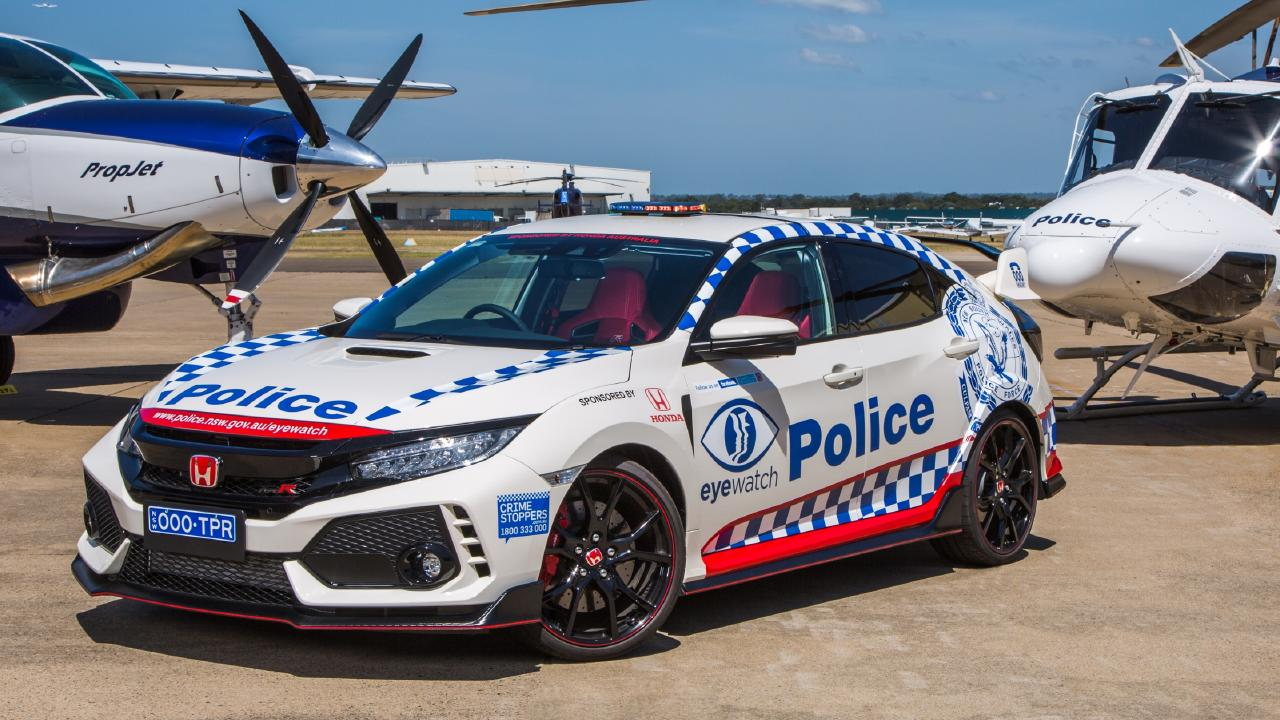 The Honda Civic Type R will be used to engage with the community.