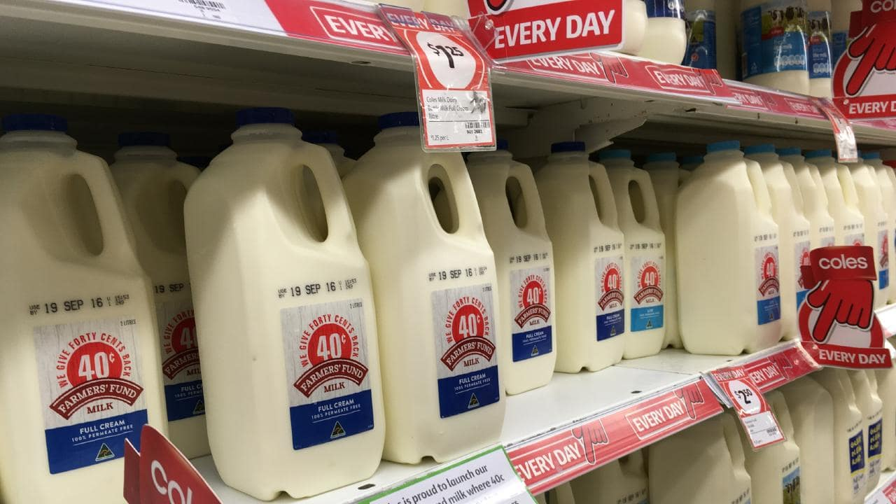 Coles refused to increase the price of its $1 a litre milk to support struggling farmers.