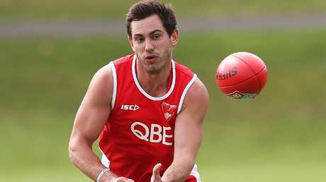 Dan Menzel will be missing early in the season. Picture. Phil Hillyard