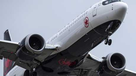 Air Canada have now grounded their fleet of MAX 8 aircraft. Picture: Darryl Dyck/The Canadian Press via AP.
