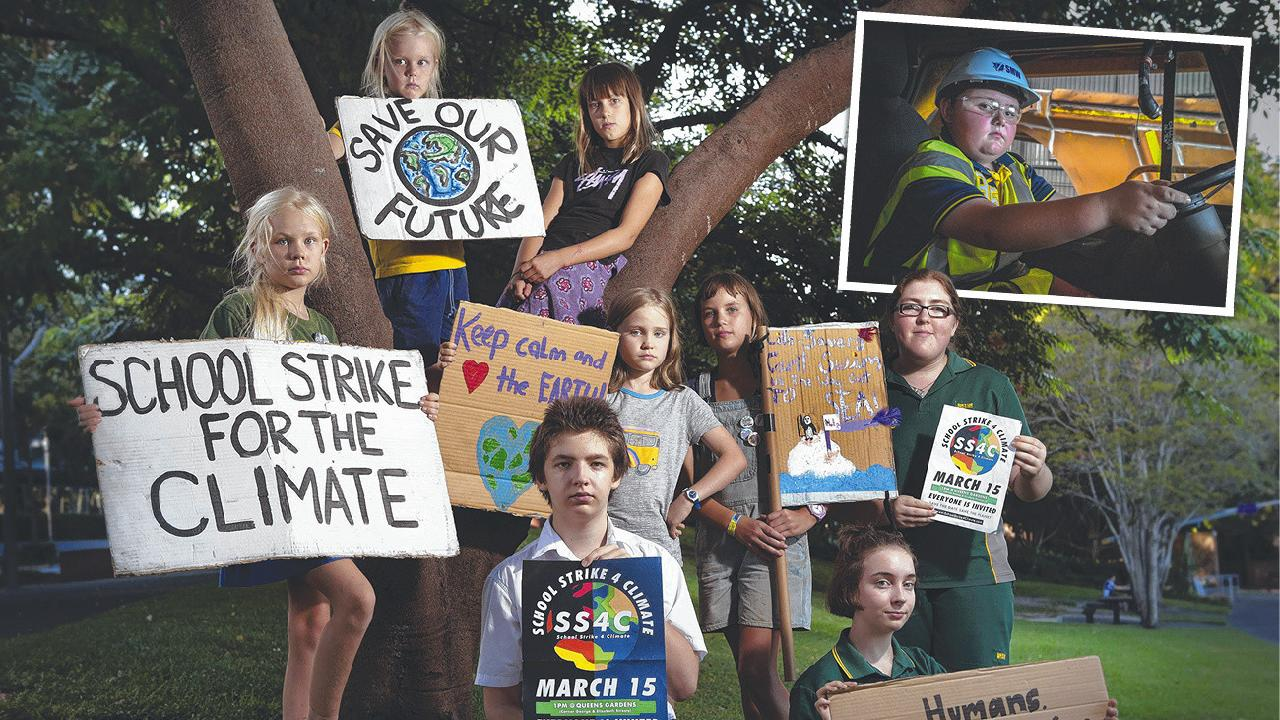 Thousands of students will walk from classrooms to demand climate change.