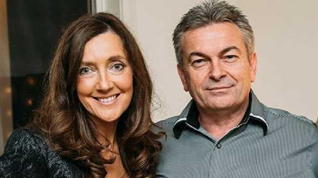 Karen and Borce Ristevski with their daughter Sarah, who maintained her belief in her father's innocence until his guilty plea this week. Picture: Facebook