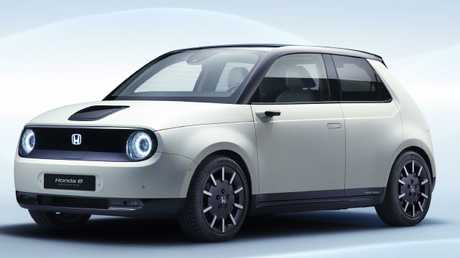 Honda's e Prototype electric car is currently only confirmed for Japan and Europe. Picture: Supplied.