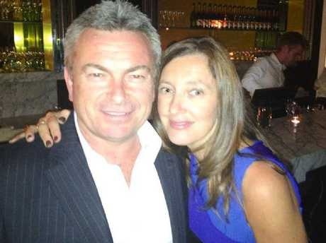 Borce and Karen Ristevski married young and appeared to have the perfect marriage. It was a different story behind closed doors, however. Picture: Facebook