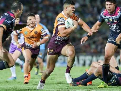 """Andrew Johns says David Fifita could be a """"once in a generational"""" talent."""