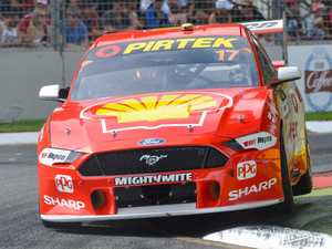 Mustang's shock impact on Albert Park circuit