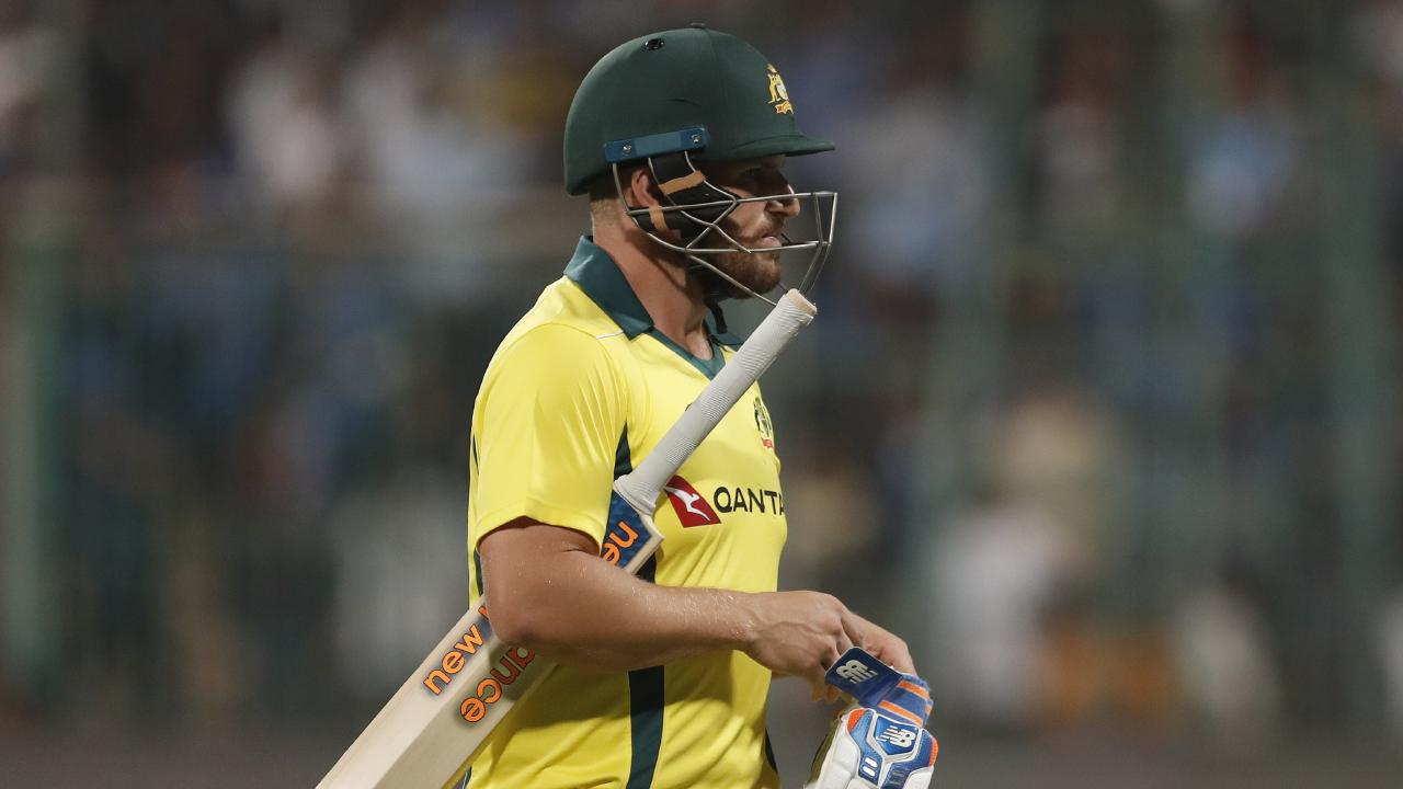 Aaron Finch was out for less than 10 in three of his five innings.