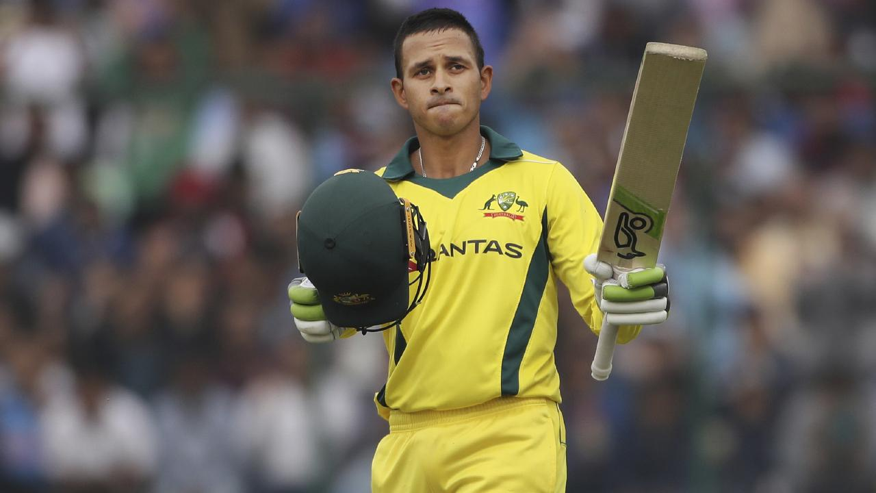 Usman Khawaja is under pressure from David Warner.
