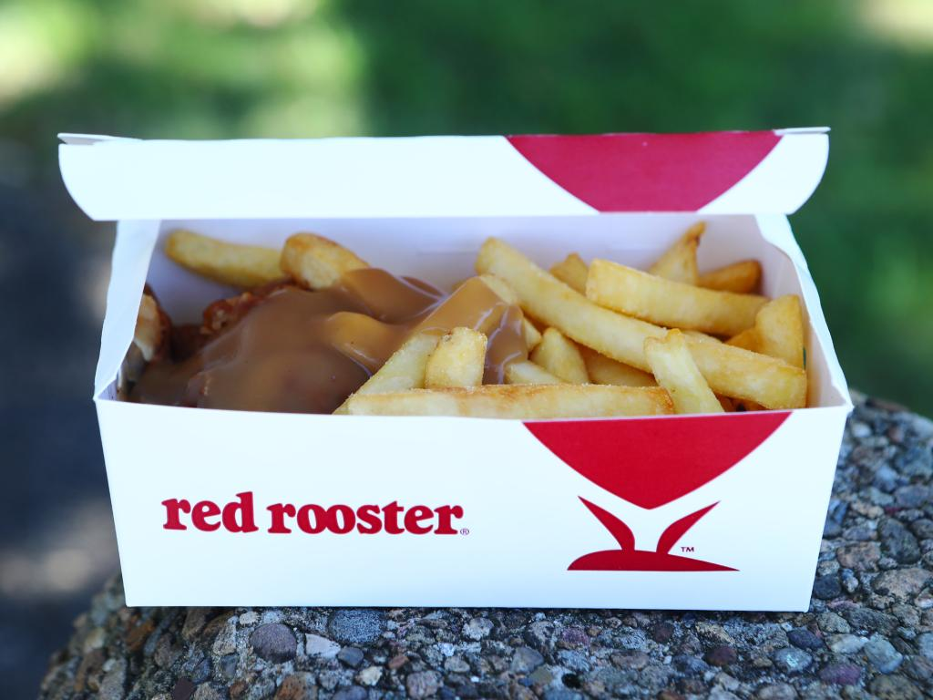 The fast-food chain are well-known for their chicken with chips and gravy. Picture: Hollie Adams