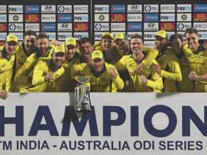 Australia ends two-year one-day series drought