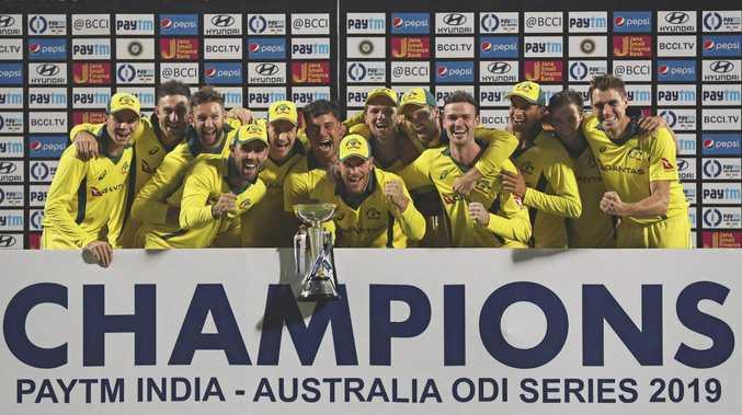 Australia have finally won an ODI series.