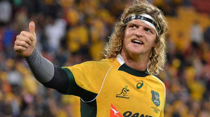 Nick Cummins during his time with the Wallabies.