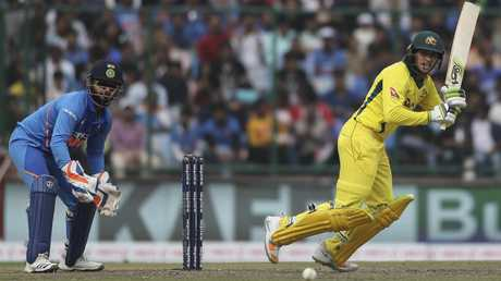 Usman Khawaja has hit form at just the right time. Picture: AP