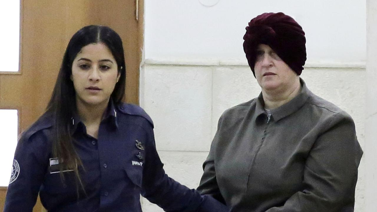 A psychiatrist has told an Israeli court former Melbourne principal Malka Leifer is unfit for extradition to Australia to face child sex abuse charges. Picture: AP
