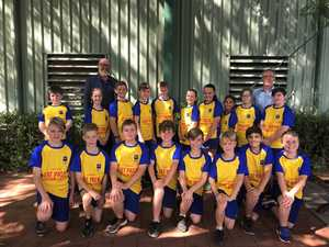 Glenvale State School rugby league team now 'running faster'