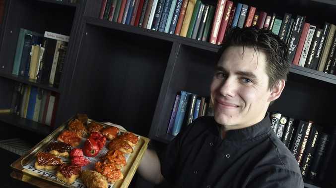 The National Hotel head chef Matt Kyle.