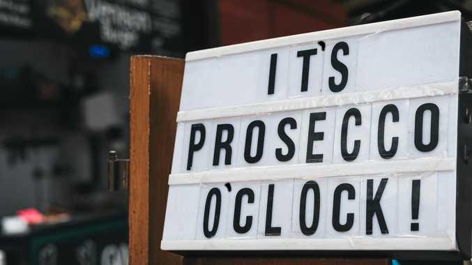 It's prosecco o'clock - it sure is.