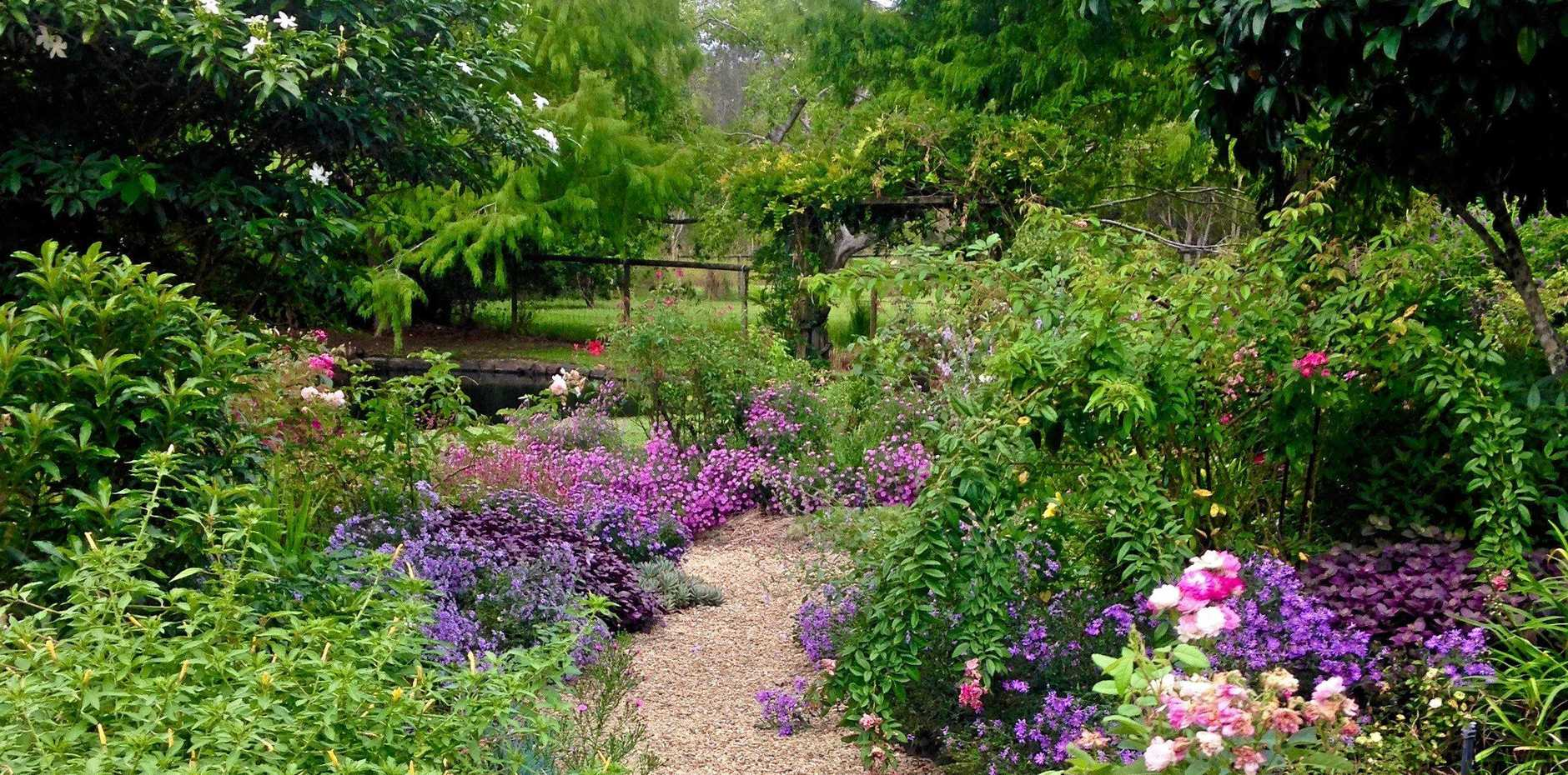 LAST CHANCE: This sprawling cottage garden at Buderim is opening its gates in April.