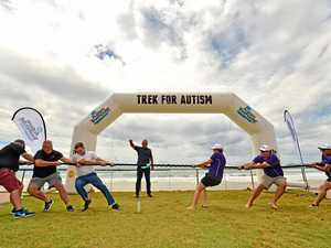 One giant trek for autism awareness