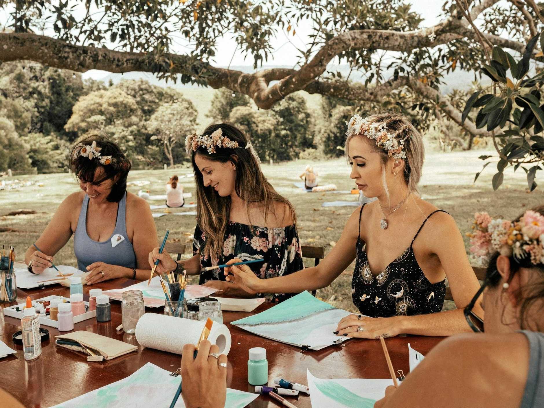 Mother-of-four Latoya Thomson has started a women's retreat in the Sunshine Coast hinterland.