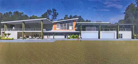 VISION: Architectural rendering of the redeveloped Brunswick Heads Surf Club. The state government will be investing $3.8million into the new facility.