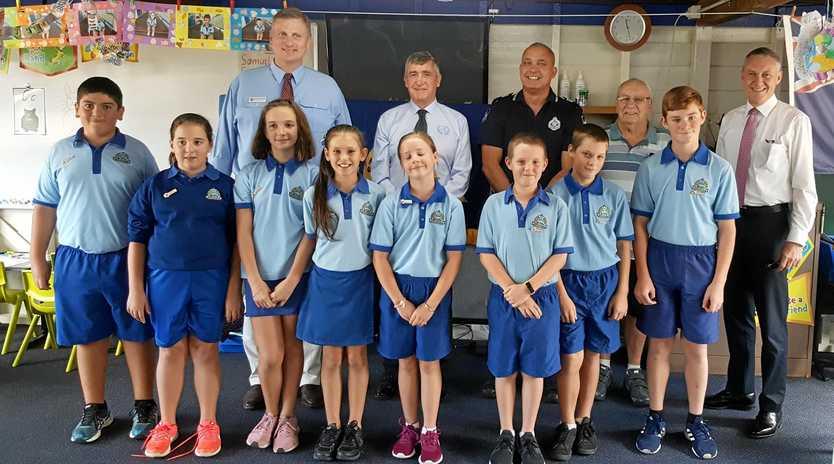 NEW ROLES: New school leaders at Applethorpe.