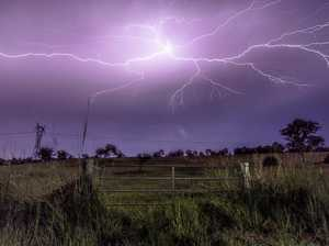 'Long line of storms' could sweep Gympie later today