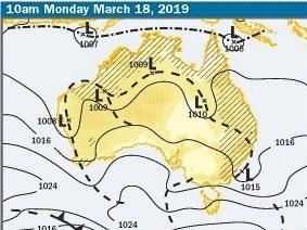 The BOM expects a cyclone may form early next off north Queensland