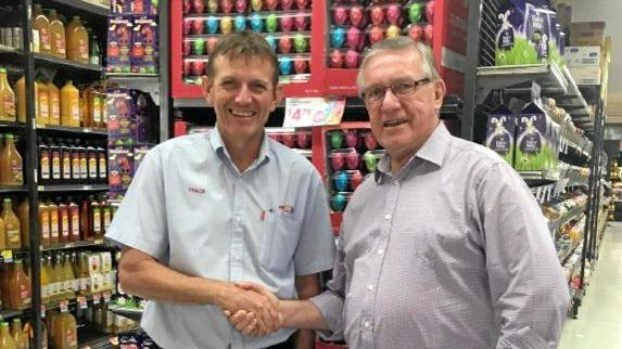 CHARITY: Kingaroy Super IGA retail store manager Trace O'Neill is pleased to support South Burnett Mayor Keith Campbell's Charity Ball in 2019.
