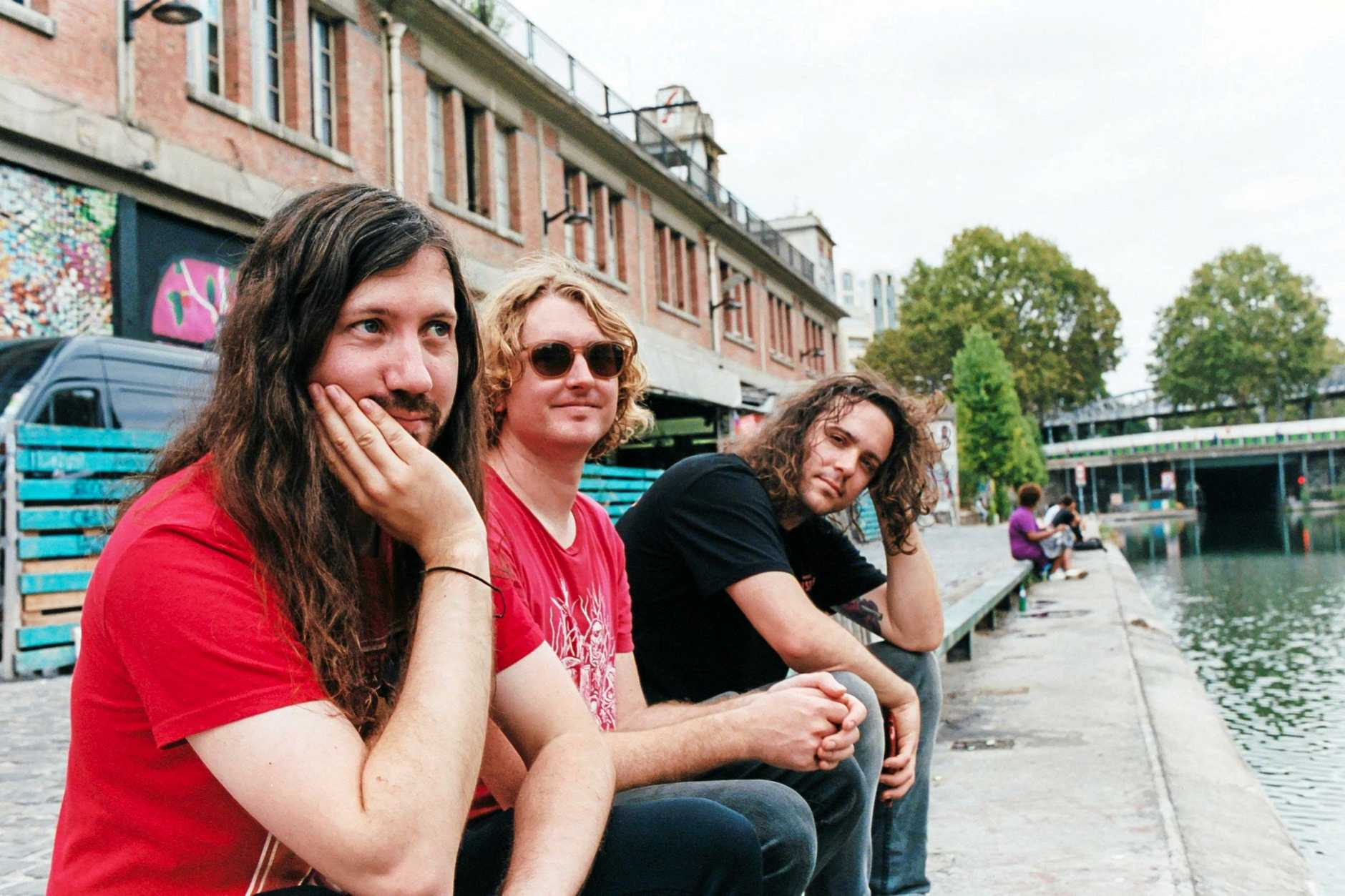 BAND: DZ Deathrays are an Australian dance-punk trio from Brisbane, composed of Shane Parsons, Lachlan Ewbank and Simon Ridley.