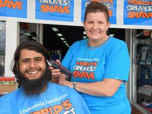 Byron's hair-raising day in Murgon