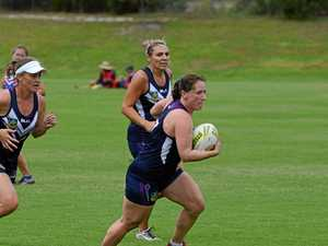 Action from the National Touch League