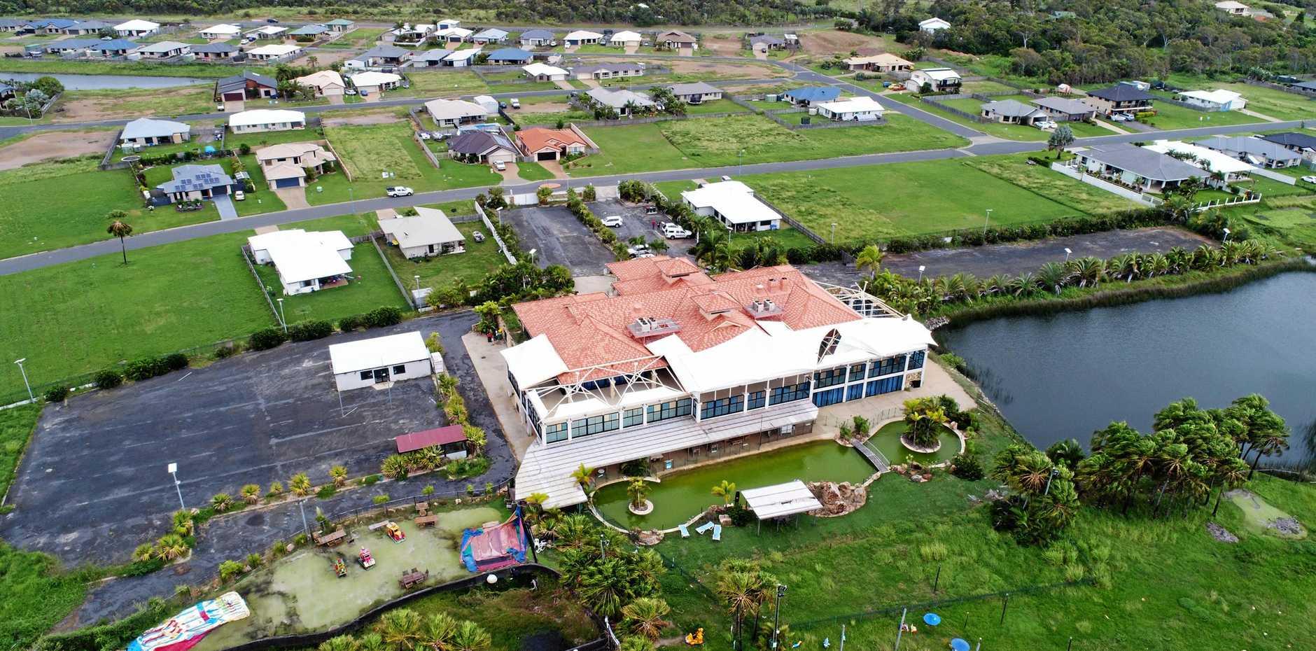 CHANGES AHEAD: Zilzie Bay Resort in April  2018.