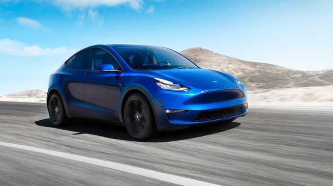New Tesla Model Y SUV revealed
