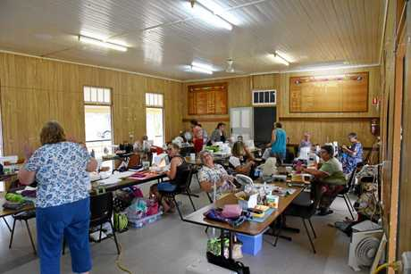 A hive of activity for the Material Girls retreat in Monto.