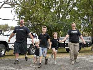 Why Toowoomba family is trading it all for life on the road