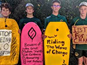 'Take us seriously': students climate change plea