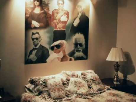 One of Jackson's bedrooms at Neverland Ranch. Picture: Leaving Neverland