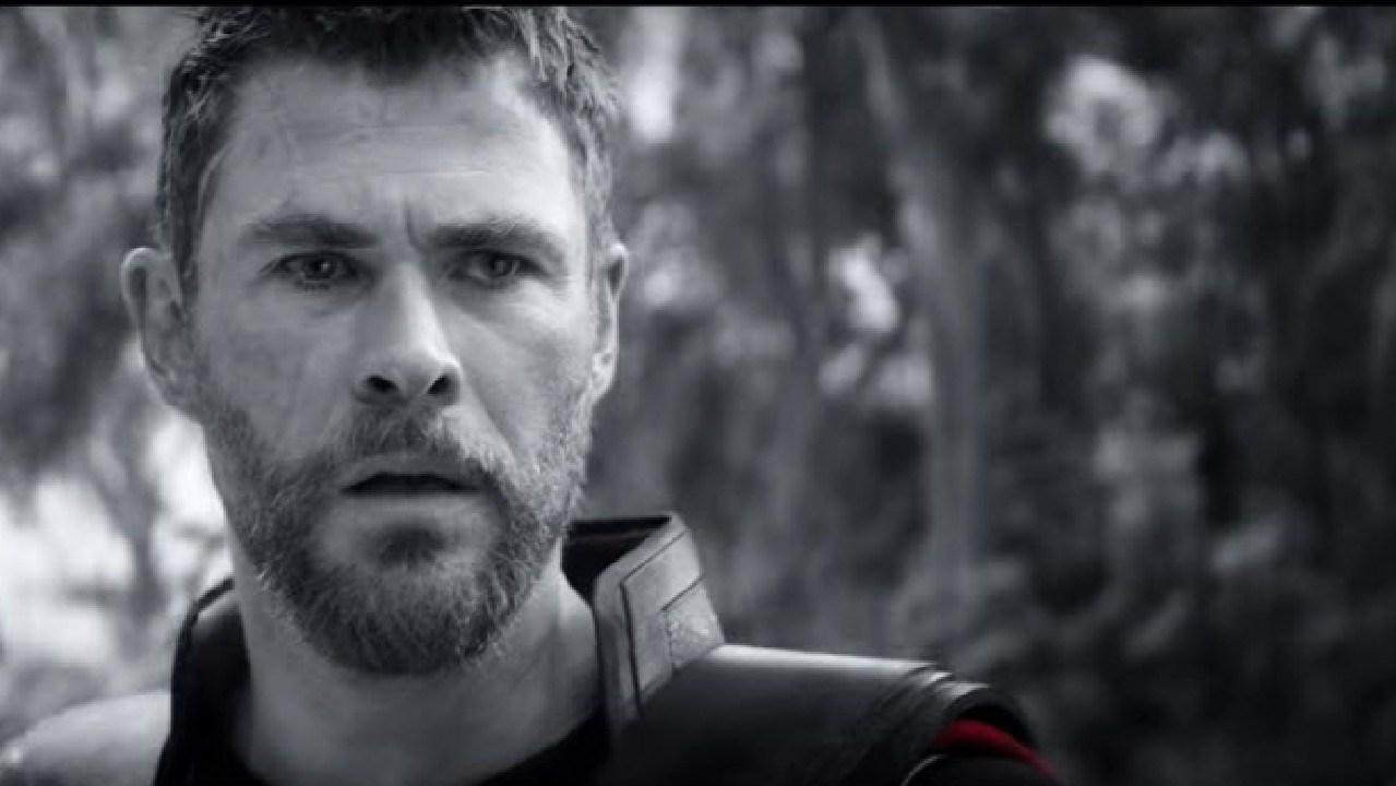 Chris Hemsworth in Avengers: Endgame.