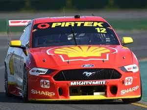 Supercars champ misses out on clean sweep of poles in Melbourne