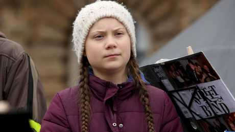Teenage Swedish activist Greta Thunberg began the global movement. Picture: Adam Berry/Getty Images