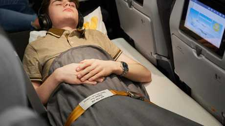 If you struggle to sleep on long-haul flights, this may be the answer for you. Picture: Thomas Cook Airlines