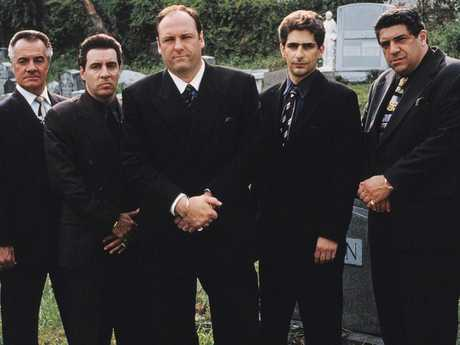 The hit reminded many of mob shows like The Sopranos.  Picture:  AP