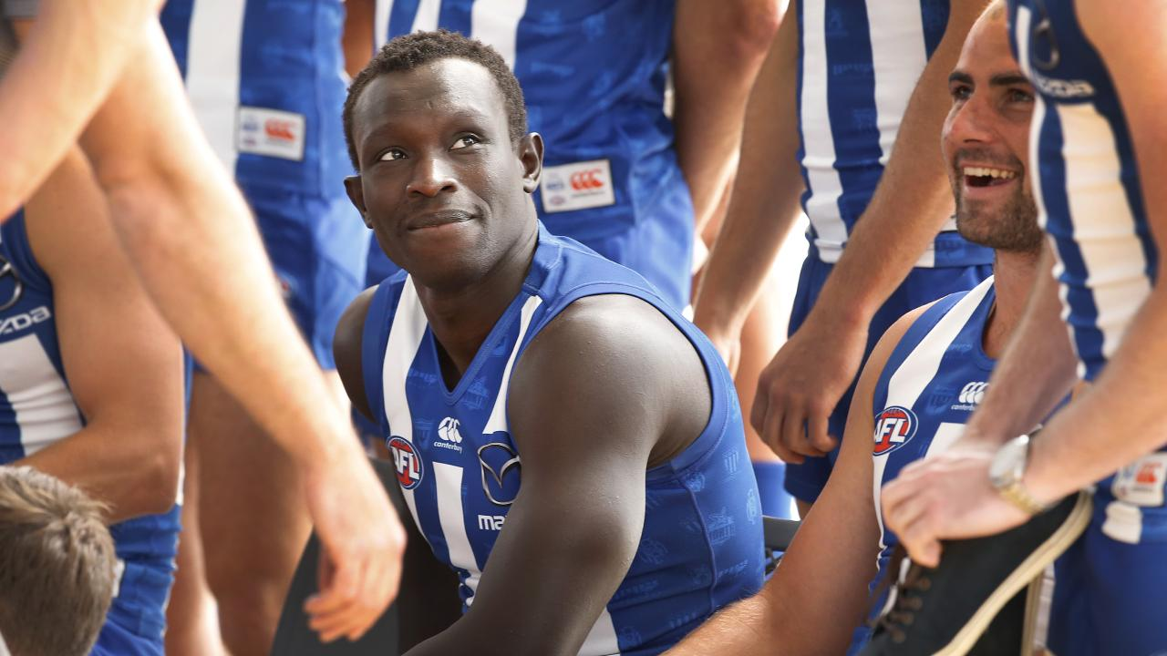 Majak Daw is fighting back. Picture: David Caird