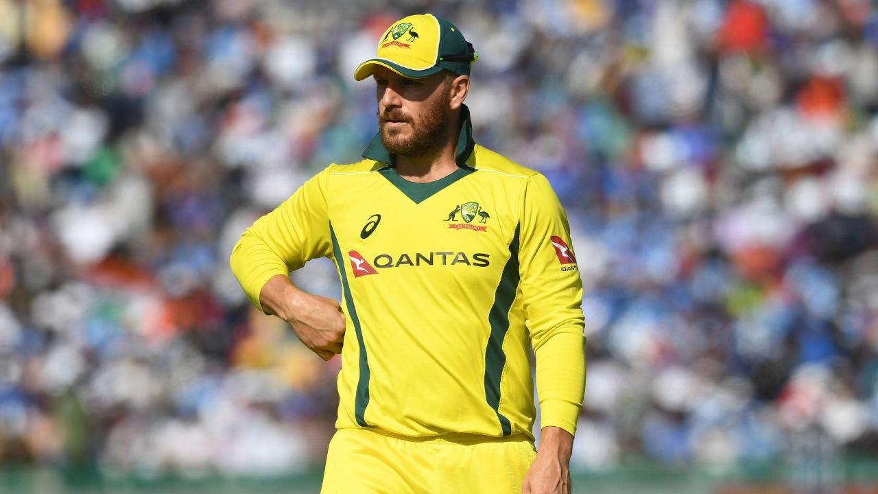 Aaron Finch is at the centre of Australia's dilemma.