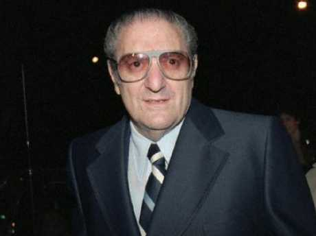 """Paul """"Big Paul"""" Castellano, former head of the Gambino crime family. Picture: Supplied"""